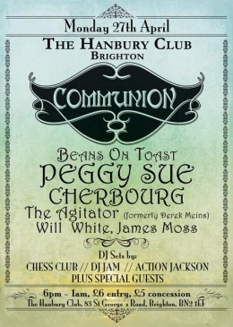 Communion Brighton – April 27th