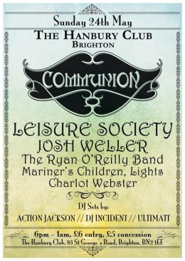Communion Brighton – May 24th