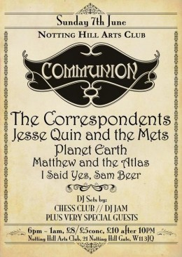 Communion London – June 7th