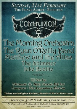Communion Brighton – February 21st