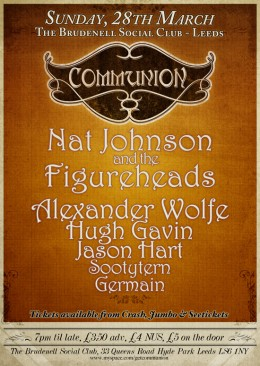 Communion Leeds – 28 March