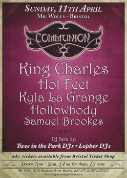 Communion Bristol 11th April