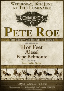 Pete Roe EP Launch!