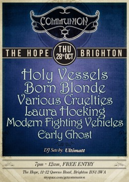 Communion returns to Brighton