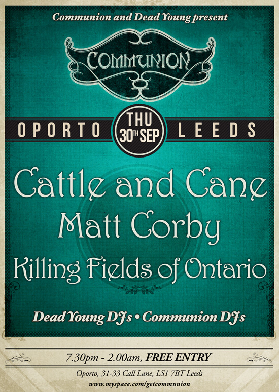 Leeds Communion at Oporto on 30th September