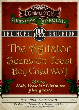 Brighton Christmas Special: The Agitator Takeover