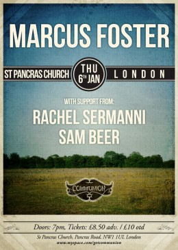 Marcus Foster at St Pancras Church