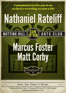 Communion present an exclusive recording session with Nathaniel Rateliff!