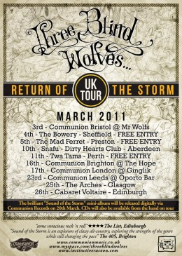 Three Blind Wolves on Tour!