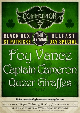 Belfast Communion: St Patrick's Day Special