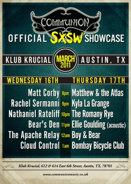 Official SXSW Showcase at Klub Krucial (Austin, TX)