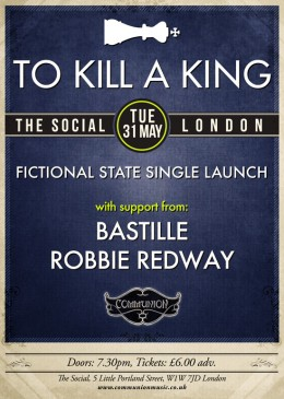 To Kill A King Single Launch