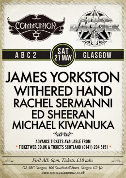 Glasgow Communion does Stag & Dagger Festival