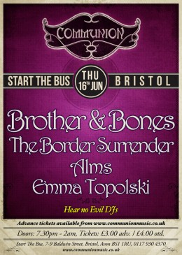 Communion Bristol @ START THE BUS this Thursday