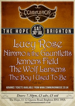 Brighton Communion Summer Special