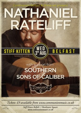 Nathaniel Rateliff at the Stiff Kitten in Belfast