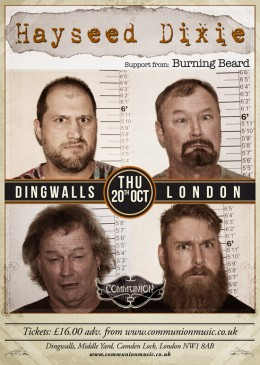 Hayseed Dixie at Dingwalls