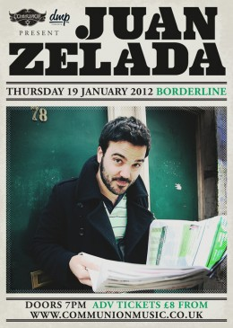 Juan Zelada live at the Borderline – January 2012