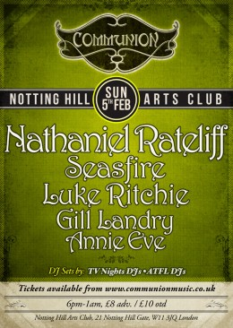 London Communion February 2012 with Nathaniel Rateliff!!!