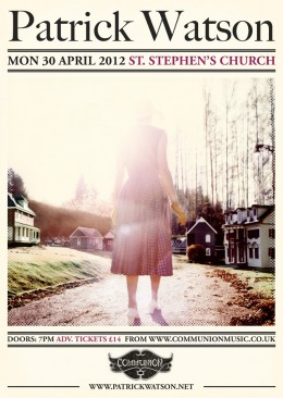 Patrick Watson at St Stephens Church April 2012