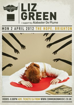 Liz Green live at the Hope, Brighton