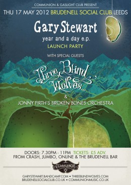 Gary Stewart EP Launch May 2012