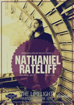 Nathaniel Rateliff live at Limelight Belfast June 2012