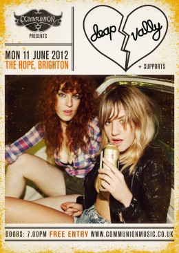 Deap Vally live at the Hope June 2012