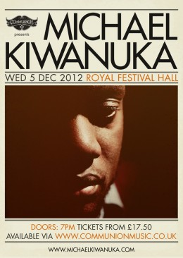 Michael Kiwanuka live at Royal Festival Hall December 2012