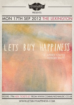 Let's Buy Happiness at the Lexington