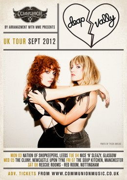 Deap Vally UK Tour 2012