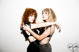 Deap Vally Press Shot by Tyler Shields