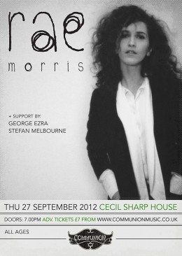 Rae Morris live at Cecil Sharp House September 2012