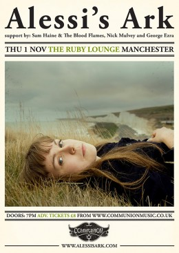 Alessi's Ark at Ruby Lounge Manchester November 2012
