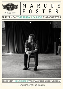 Marcus Foster at Ruby Lounge Manchester November 2012