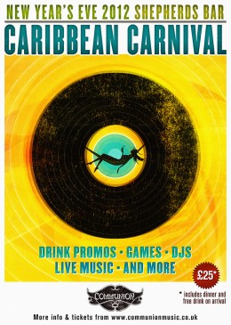 Caribbean Carnival New Years Eve Party 2012