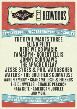 Communion in The Redwoods Announces First Acts
