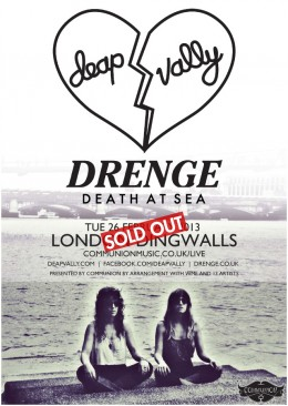 Deap Vally headline Dingwalls in February 2013