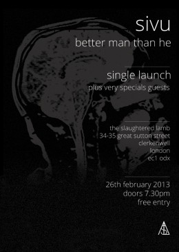 Sivu live at the Slaughtered Lamb February 2013