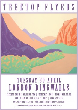 Treetop Flyers live at Dingwalls April 2013