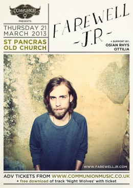 Farewell J.R at St Pancras Old Church March 2013