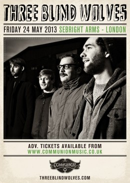 Three Blind Wolves at Sebright Arms May 2013
