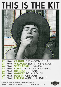 this is the kit tour may 2013 gig poster