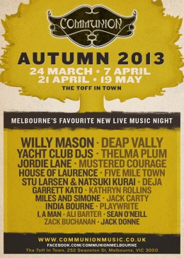 Communion Melbourne Autumn-Season-2013-Full-_Lineup