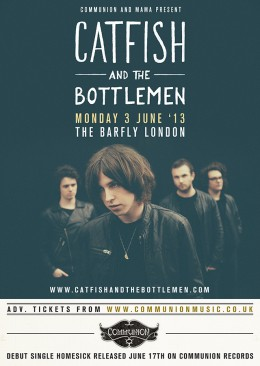 Catfish and The Bottlemen announce June London show and debut single