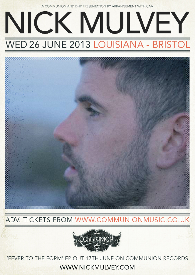 Nick Mulvey announces Bristol Show
