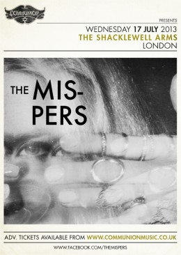 The Mispers to play Shacklewell Arms