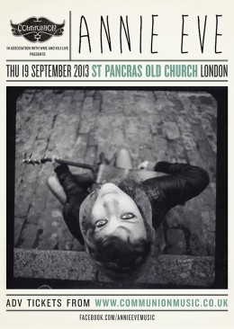 Annie Eve headline Autumn London show