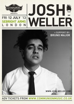 Josh Weller announces July show