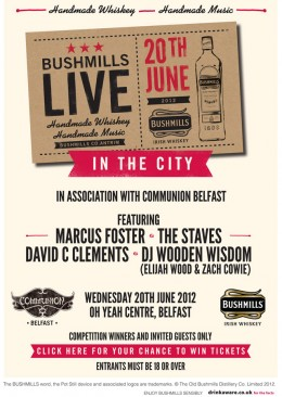 Communion Belfast x Bushmills Live June 2012